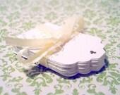 25 Cute Blank White Tags