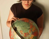 Swivel Mount COLD WAR Globe