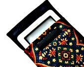 Nexus 7, iPad Mini, Kindle Fire HD, Nook HD, eReader, sleeve, cover, case, padded, moisture resistant, Indian print