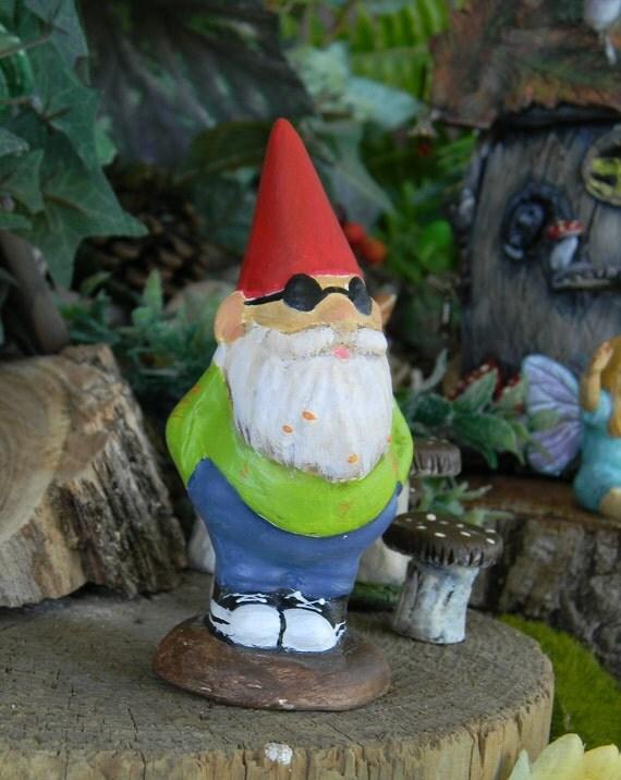Garden Gnome - Kool  Hippy Style