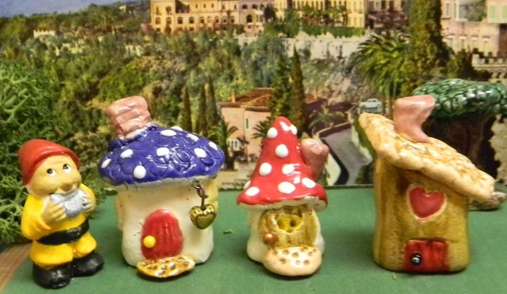 Miniature Garden Gnome Dollhouse Sized 1 By