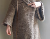SALE - Alber Merino Wool Sweater Coat.
