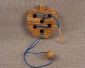 Wooden Puzzle Apple