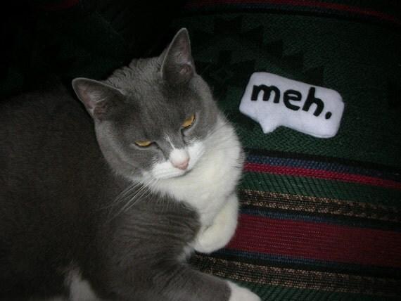 meh Speech-bubble toy -  For your cat and her BFF Jill