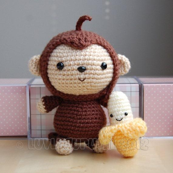 Monkey Gurumi Crochet Pattern