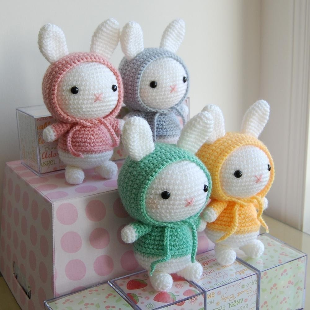 Free Crochet Patterns Of Bunnies : Bunny Gurumi Crochet Pattern