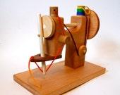 Hardwood Beech Sewing Machine