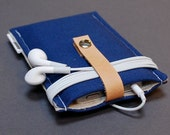iPhone Cases / Samsung Galaxy S6 / HTC One M9 / iPod Nano Case / iPhone 5S / iPhone 5 / iPod Classic / Nano 7th Generation - Canvas Blue