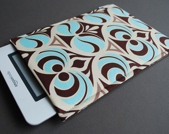 Kobo Glow HD Case / Kindle Paperwhite Cover / Nook Glowlight Plus / Kindle Voyage Cover / Kindle 3 Case / Kindle Touch - Spade Blue