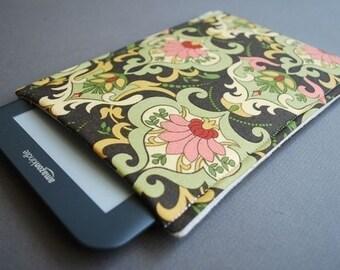 Kindle Fire HD Case / Kindle Fire HDX Case / Nook hd Plus / Nook HD Case - Damask Garden