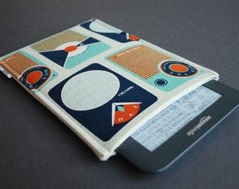 Kindle Paperwhite Case Kindle Voyage Case Kindle Oasis Case - Transistor Radio Navy