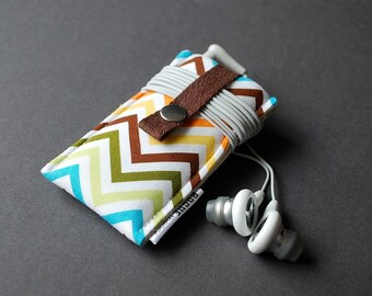 iPhone 6s Plus Case / iPod Nano Case / iPhone SE Case / iPod Case / Samsung Galaxy S7 Cover / iPhone 6S Case - Zig Zag Rainbow