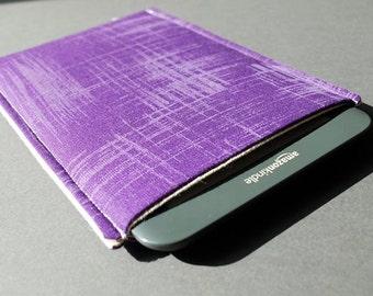 Nook HD Plus Case / Nook Glowlight Case / Nook Simple Touch / Nook Tablet Case / Nook Color - Paintbrush Purple
