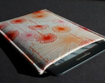 Kobo Aura HD Case / Kindle 4 Case / Kindle Fire / Nook Glowlight Plus Case / Kobo Glo HD / Kindle Oasis Case  - Wildfield Pinks