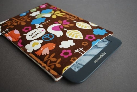 Google Nexus Case / Galaxy Tab Cover / Kindle Paperwhite Cover / Nook Glowlight HD / Nook Simple Touch - Birdie