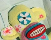 Daisy the sock monkey Reserved for Devancarol