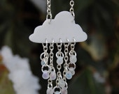 Mini Snow Cloud Necklace