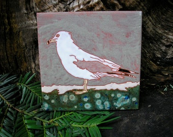 Seagull  tile-CUSTOM ORDER -allow 4-6 wks production time-