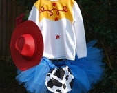 Jessie Cowgirl Halloween Tutu Costume