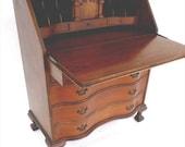 Early Antique Secretary Desk