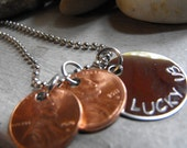 New Lucky Us necklace stainless steel version 4 penny