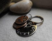 New Lucky Us Keychain stainless steel version 2 penny