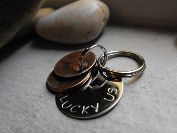 New Lucky Us Keychain stainless steel version 3 penny