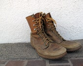 Nicely distressed Vintage 50s Work Boots