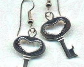 The Key From Her Heart)) earrings SALE