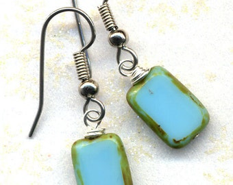 Sleeping Beauty Turquoise Treasure Earrings SALE