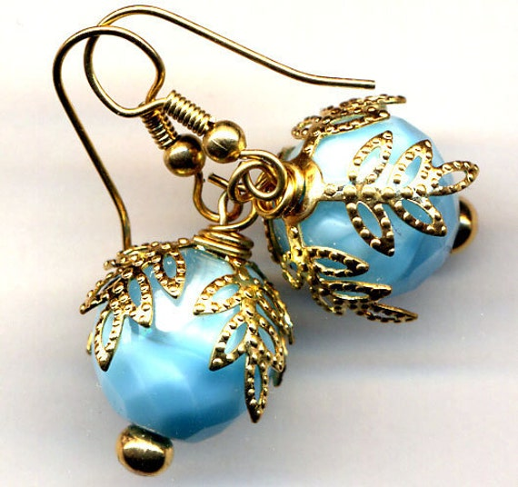 Snow Berry Earrings or Gold Lining Earrings - Your Choise SALE