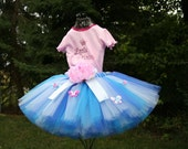 Create Your Own Butterfly Princess Sewn Custom Tutu  Sizes 3 - 7, Up to 12 inch length