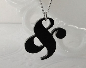 Elephant Ampersand Necklace