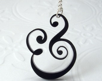 Epershand Ampersand Necklace - express shipping