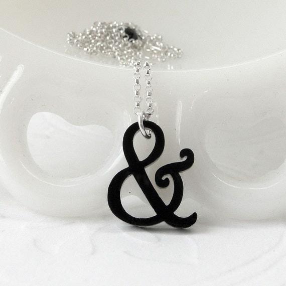 Mini Harrington Ampersand Necklace