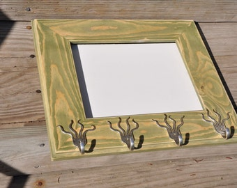 8x10 Picture Frame With 4 Mini Funky Fork Hooks