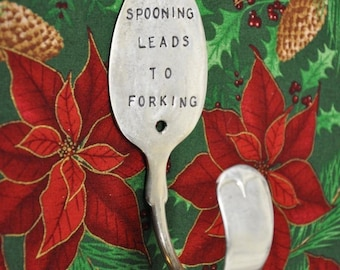 Silver Spoon Hook Spooning Leads To Forking  PERSONALIZED