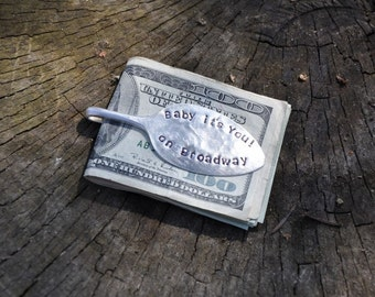 PERSONALIZED Spoon Money Clip