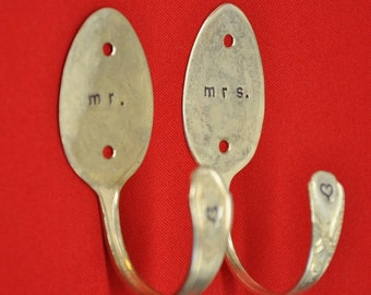Mr. and Mrs. Spoon Hooks