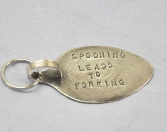 Spooning Leads To Forking Keychain