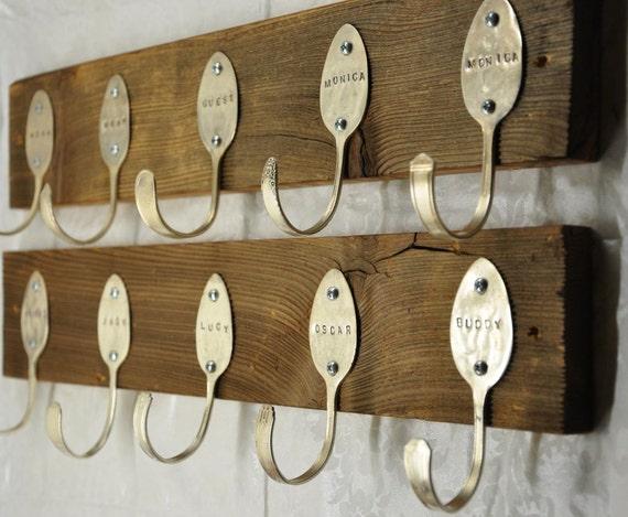 2 Personalized Spoon Racks
