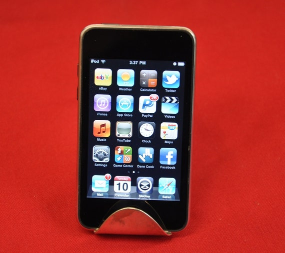 Table Spoon Business Card Holder or iPod Smart Phone Holder