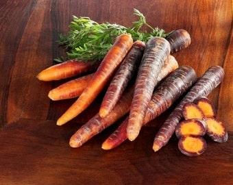 Organic Carrot Cosmic Purple Heirloom Vegetable Seeds