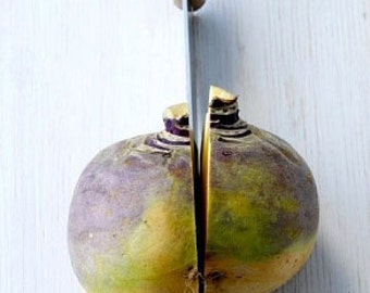 Organic Purple Top Rutabaga Heirloom Vegetable Seeds