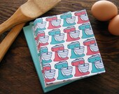 Retro Kitchen Aid Mixer Stationery - Set of 6, gift under 15, stocking stuffer