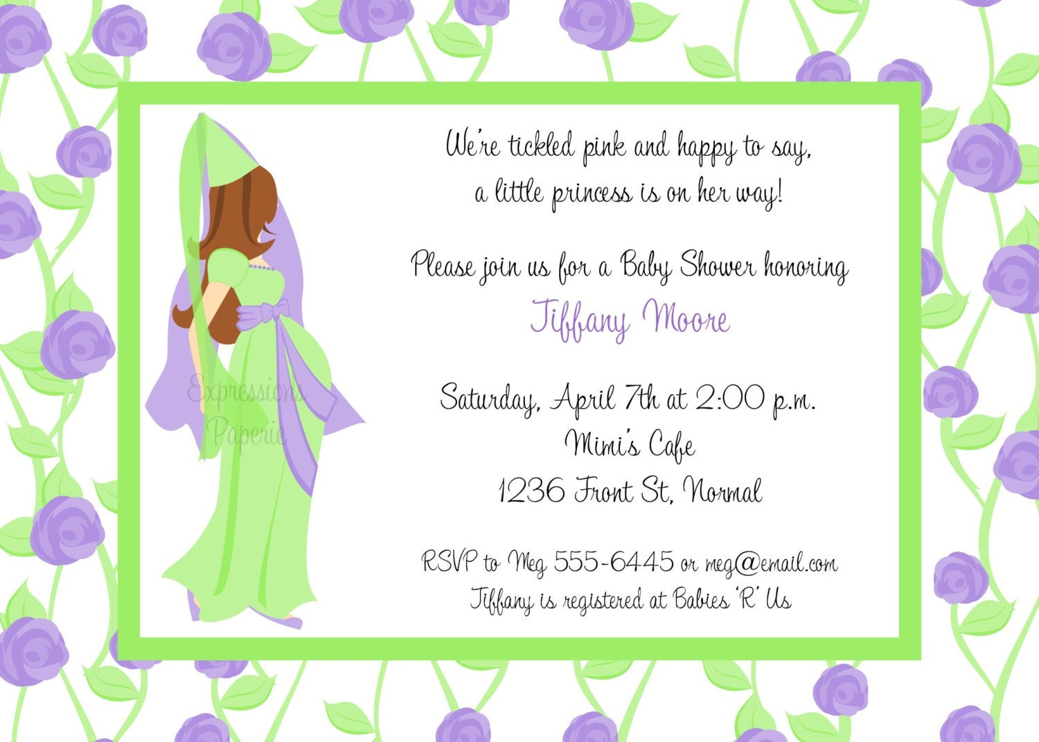 Email Invitations For Baby Shower images