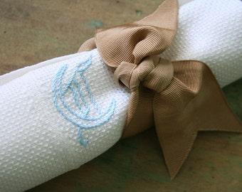 Vintage Hand TOWEL - Monogrammed T