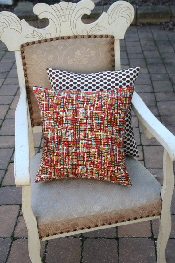 PILLOW COVER - Contemporary Mod Print - 16 Inch