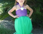 "Ariel ""The Little Mermaid"" Inspired Tutu Costume"