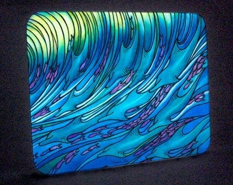 Wave of the Dolphin Cutting Board or Hot Plate